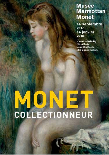 flyer Monet collectionneur