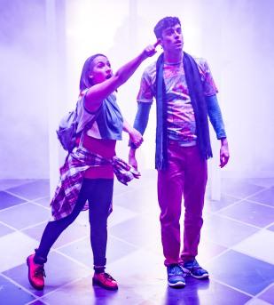 Rosie Barry & Michael Drake as Hansel & Gretel - The MAC, Belfast 2017