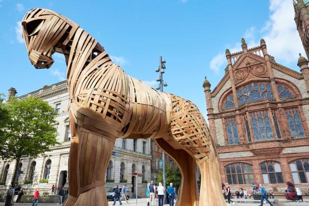 Trojan horse in Derry