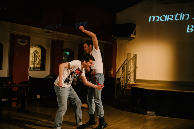 A Queer Ceili at the Marty Forsythe - Simon Sweeney and Chirs Grant