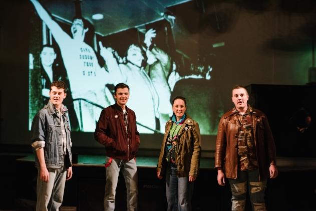 A Queer Ceili at the Marty Forsythe - Simon Sweeney, Chris Grant, Paula Carson and Brendan Quinn