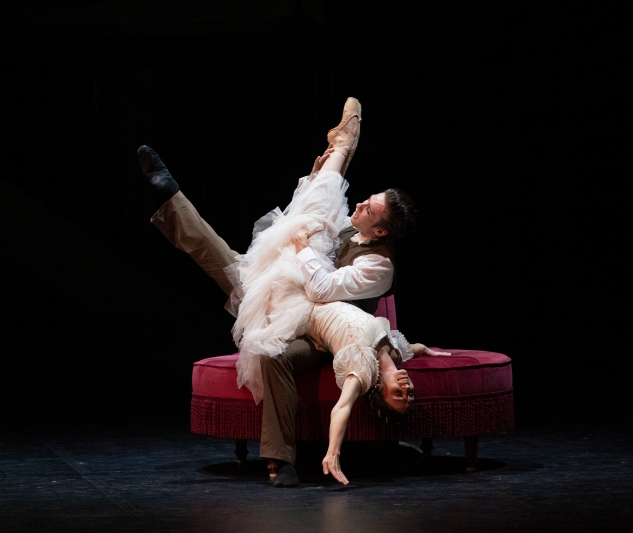 Abigail Prudames as Victoria and Joseph Taylor as Albert in Victoria. Photo Emma Kauldhar (9)
