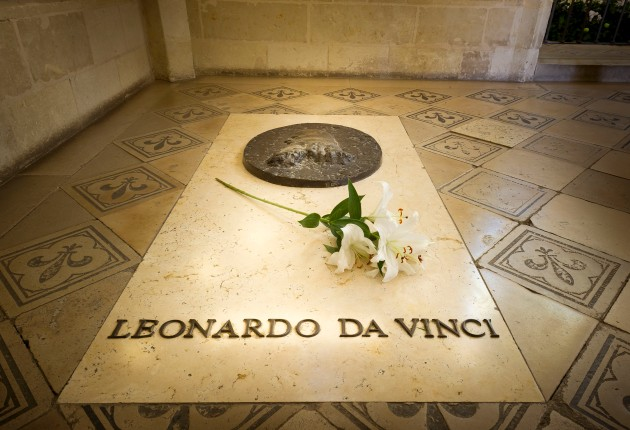 5. Tombe Leonardo da Vinci©Leonard de Serres